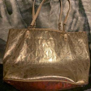 Gold MK purse